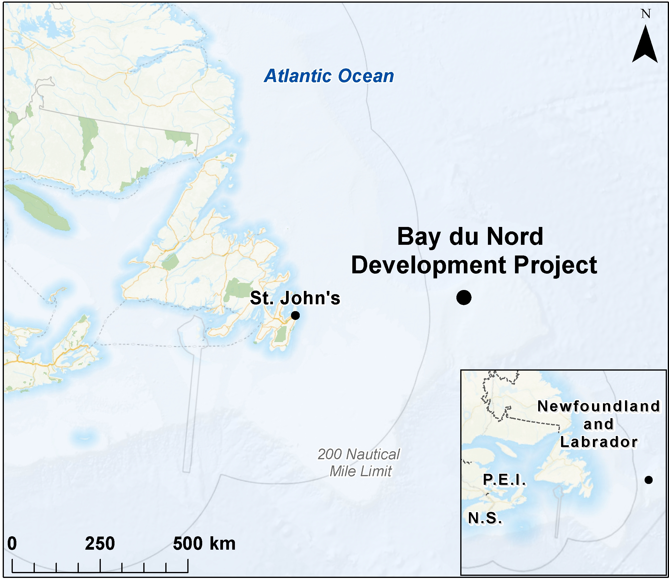 Map depicting the project location, as described in About the Proposal.